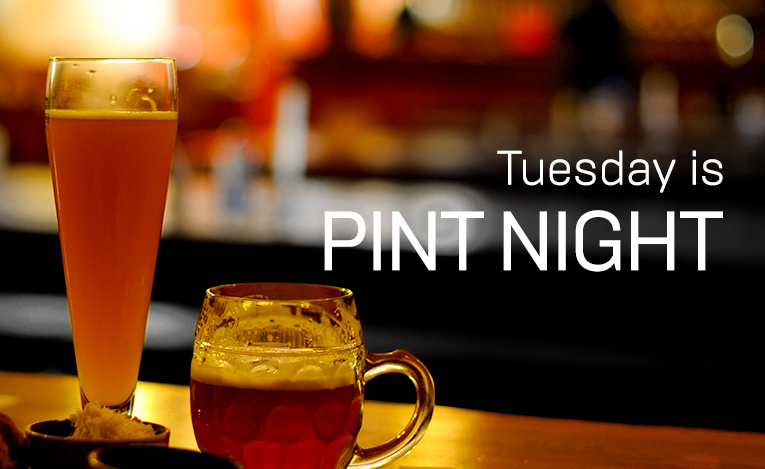2019 Tuesday is pint night in Vancouver